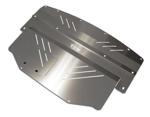 SILVER Aluminum Splash Shield Guard Engine Under Tray for 03-09 Nissan 350Z Z33