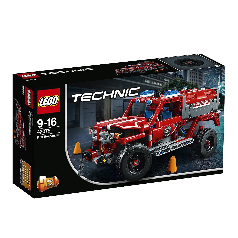 LEGO TECHNIC UNITA'DI PRIMO SOCCORSO 42075 costruzioni mattoncini collezione