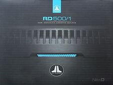 JL AUDIO RD500/1 CLASS-D RD SERIES CAR SUBWOOFER AMPLIFIER BRANDNEW!