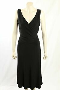 NEW-Ralph-Lauren-Size-10-Long-Black-Formal-cocktail-Dress-RRP-150-00