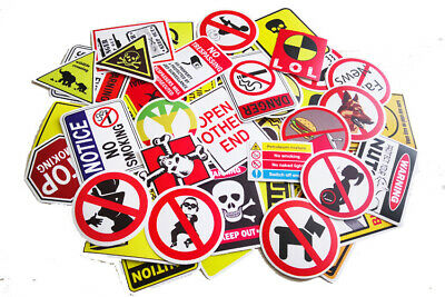 50x Sticker Aufkleber Stickerbomb WasserfestSimpsons Homer Marge Maggie Lisa