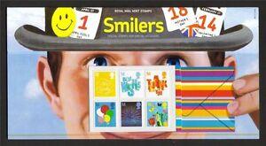 GB-Presentation-Pack-M13-2006-SMILERS-BOOKLET-STAMPS