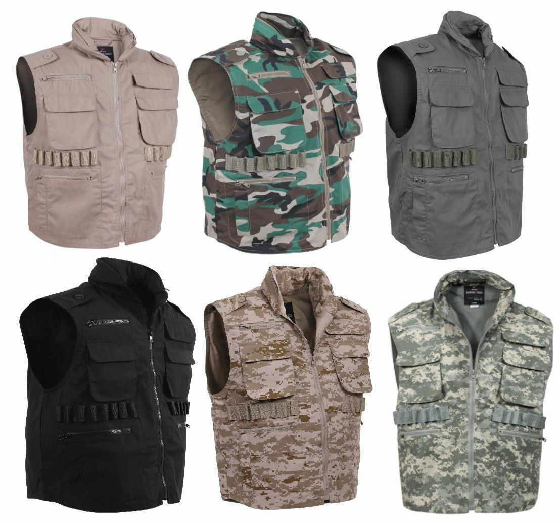 redhco Military Tactical Hunting Camouflage Ranger Vest With Hood