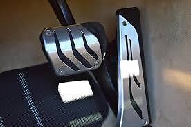 Pedal Set Stainless Steel Genuine BMW M Performance Auto 35002232278