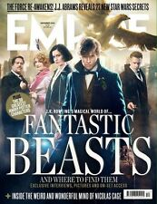 Empire Magazine December 2016 Eddie Redmayne Fantastic Beasts Harry Potter 1 NEW