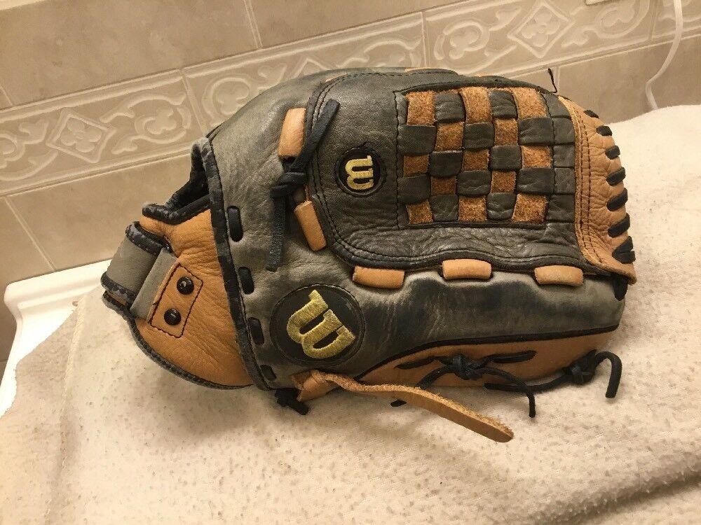 """1a59b8e394d6 Wilson 13"""" Softball Glove Right Hand Throw A700 Baseball eemrec3276 ..."""