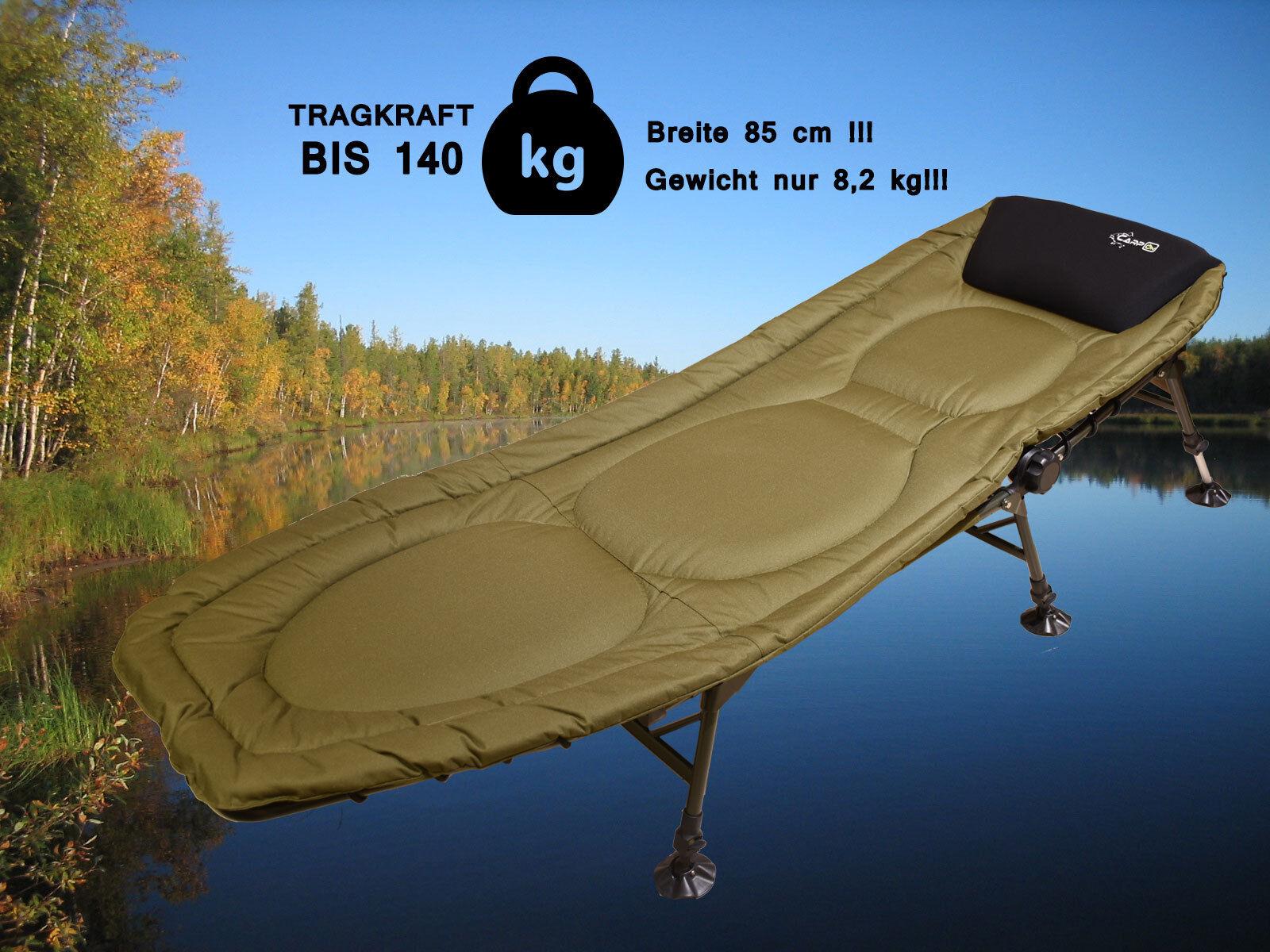 Ciprinidos tumbona de aluminio camping tumbona carpon Flix tumbona bedchair