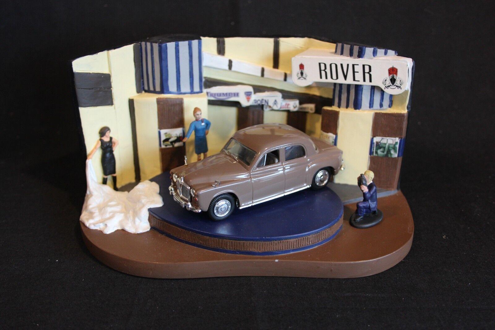 tienda hace compras y ventas Vanguards Diorama Diorama Diorama 1 43 Rover 100 (Heather marrón) Earls Court  salida para la venta