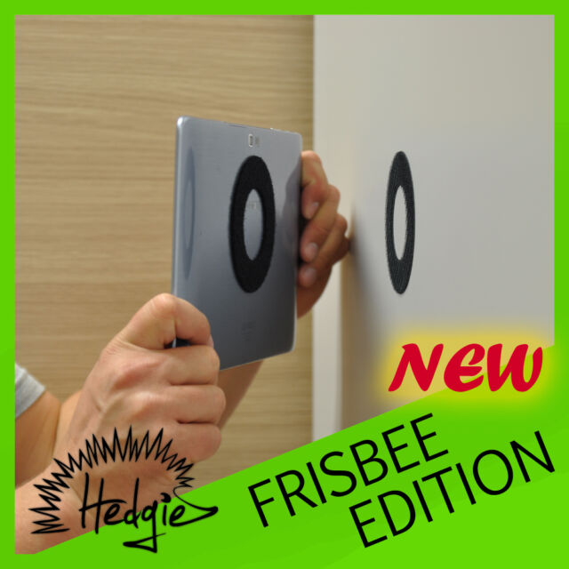 HEDGIE FRISBEE EDITION - any IPAD, ANDROID or WINDOWS Tablet - Wall Mount gadget