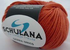 Wolle Sierra Unico von Schulana 50g Farbe 41 terracotta