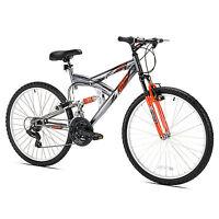 Northwoods Z265 26 Men's Dual Suspension 21 Speed Lightweight Mountain Bike
