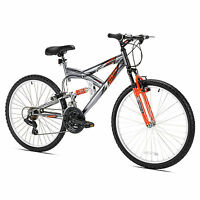 Northwoods Z265 26 Men's Dual Suspension 21 Speed Lightweight Mountain Bike on sale