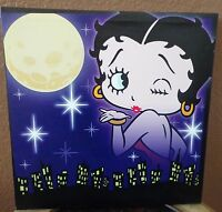 Betty Boop City Lights Lighted Canvas Westland Wall Art 15 By 15