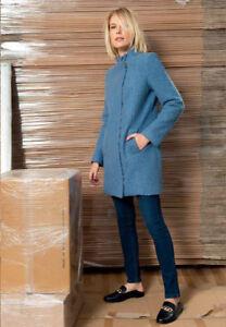 Caricamento dell immagine in corso EDAS-Cappotto-donna -vintage-Carfonio-lungo-slim-caldo- efc6e459b1a7