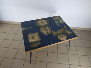 Copieux Table Basse 1950 / 1960 Design - Coffee / Occasional Table 50's / 60's - Baroque