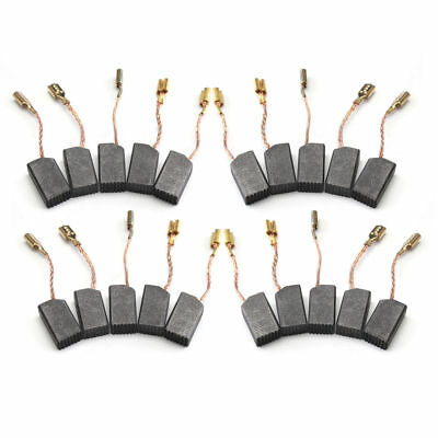20Pcs 6x10x17mm Motor Carbon Brushes For Electric Drill Angle Grinder repair *