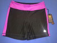 Ladies Rbx Active Wear Shorts Purple/black Large