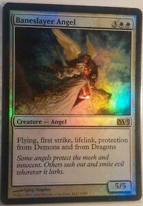 Ange-pourfendeur-PREMIUM-FOIL-VO-English-Baneslayer-angel-Mtg-magic