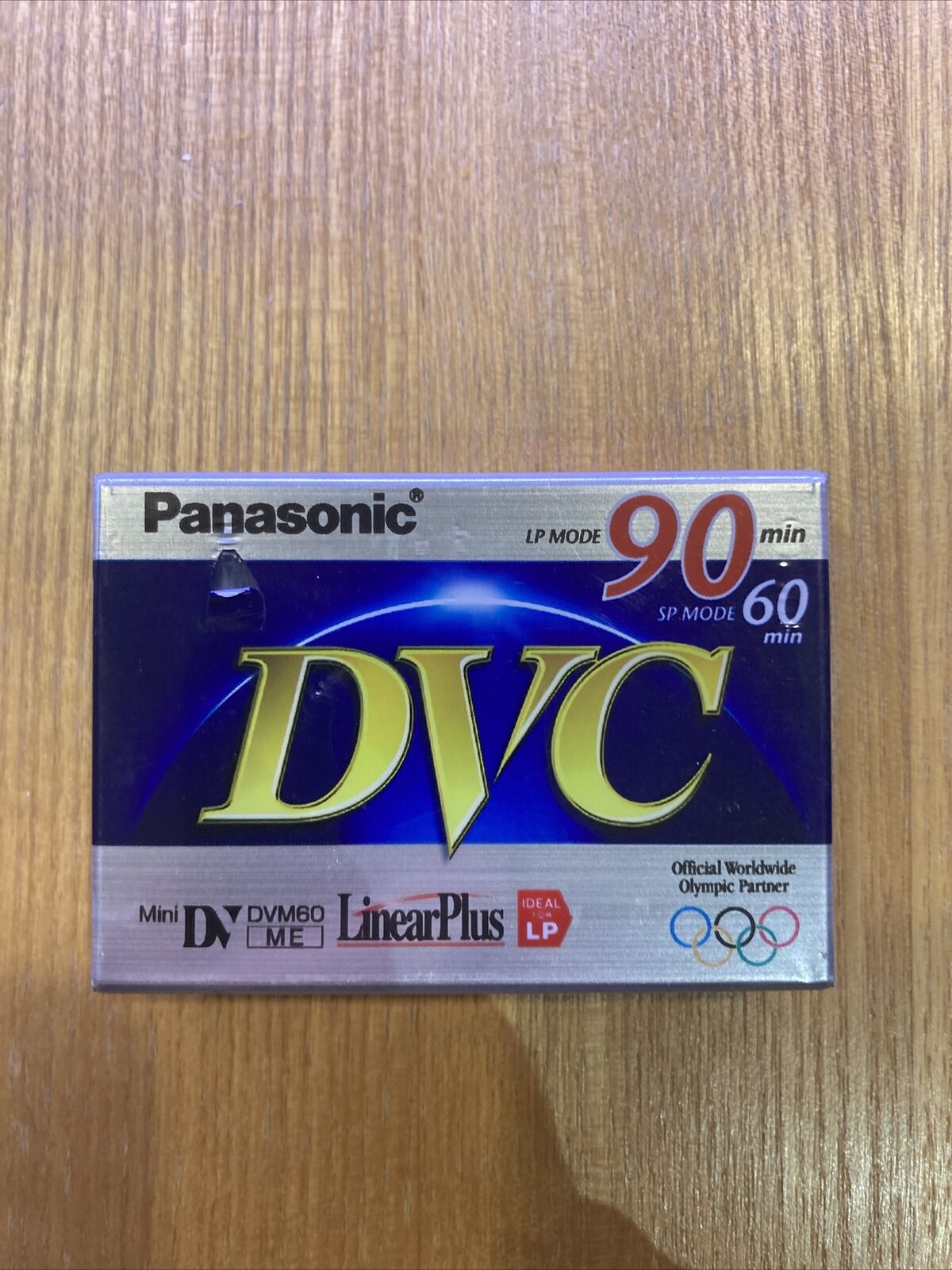 Panasonic Digital Video Cassette Tape Long & Short Play SP 60 MIN 90 MIN LP New