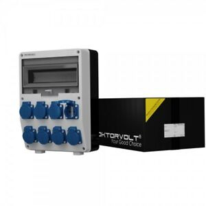 Distribution Board Power Box Td 8x230V Building Site Mennekes Cans Doktorvolt