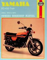 Haynes Service Manual Yamaha Us Model Rd400 1975, Uk Model Rd400 1976 & E 1978