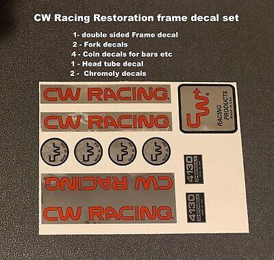 FMF Frame /& Fork Decal Set-For Restoration Choice of OG colors or Custom