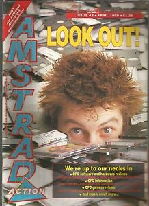 AMSTRAD-ACTION-ISSUE-43-APRIL-1989-MAGAZINE