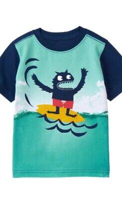 Gymboree Tropical Bloom 3-6-12 mo 2T 3 4 4T Shirts Tops Sun Surf Dog Blue 2011