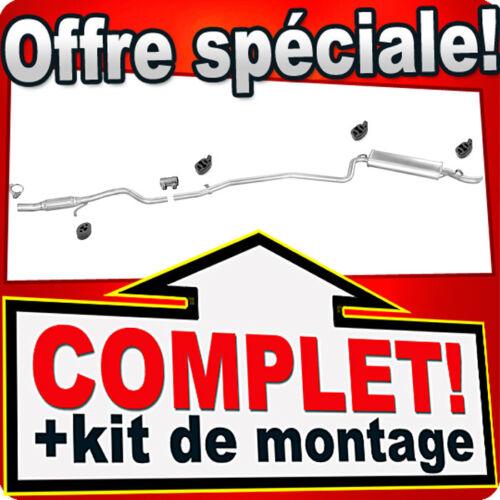 Ligne pot d/'échappement FIAT SEICENTO 1.1 2004-10.2005 Silencieux 329