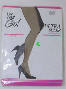 d276b0ecd Image is loading On-The-Go-Panty-Hose-Ultra-Sheer-Platina-