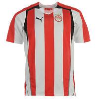 Olympiakos (2xl,xl) 2005/06 Red/wht Greece Home S/s Soccer Football Shirt Jersey