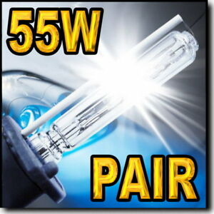 2-x-55W-H11-6000K-HID-Light-Replacement-Bulbs-Low-Beam