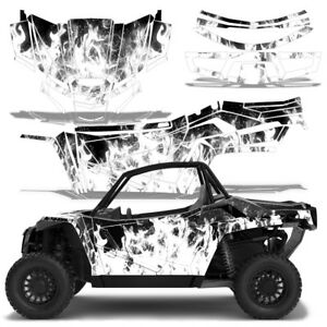 Details about UTV Graphics Kit Decal Sticker Wrap For Arctic Cat Wildcat XX  2018+ ICE WHITE