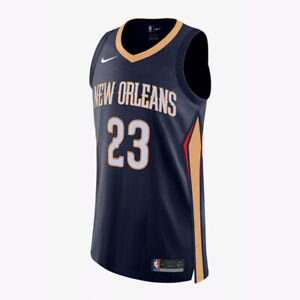 Details About Nike Nba Authentic Jersey Anthony Davis New Orleans Pelicans 863031 419 40 44 48