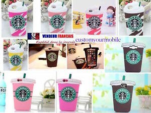 Coque-iPhone-Samsung-3D-Starbucks-Ice-Cream-cafe-Cup-Protection-ETUIS-HOUSSE