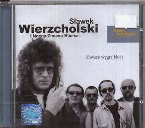 SLAWEK-WIERZCHOLSKI-i-Nocna-Zmiana-Bluesa-034-WYGRA-BLUES-034-zlota-kolekcja-CD