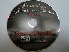 PC Game: Paranormal Mysteries IV (4 Pack)  Hidden Object Game