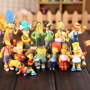 14pcs-Set-Simpsons-Action-Figures-Toys-PVC-6-12CM-Collectors-Decoration-Gift