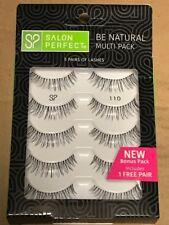 4f68bd45854 item 2 Salon Perfect Be Natural Multi Pack Eyelashes, 110 Black, 5 Pairs -Salon  Perfect Be Natural Multi Pack Eyelashes, 110 Black, 5 Pairs