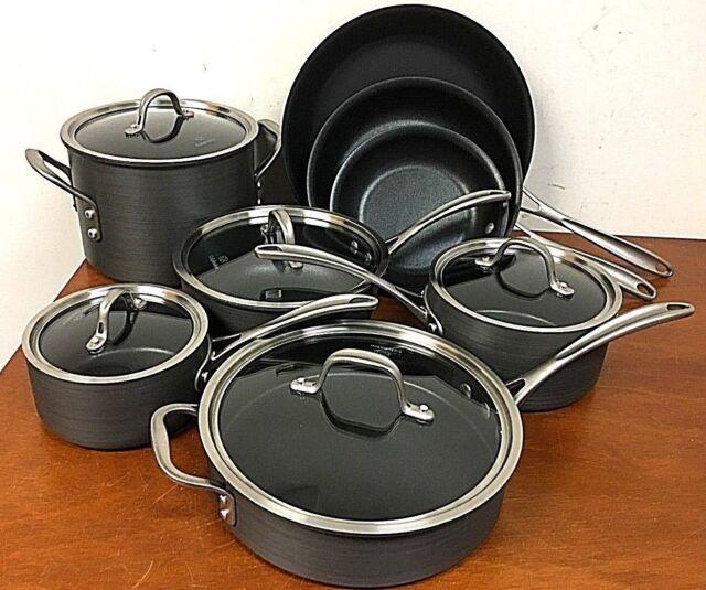 Calphalon Commercial Nonstick 13-piece Hard Anodized Cookware Set - 8P_09