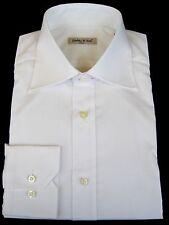 "Shirt - Dress - Men's - 15 1/2"" neck - Italian - White - Imported From Italy"