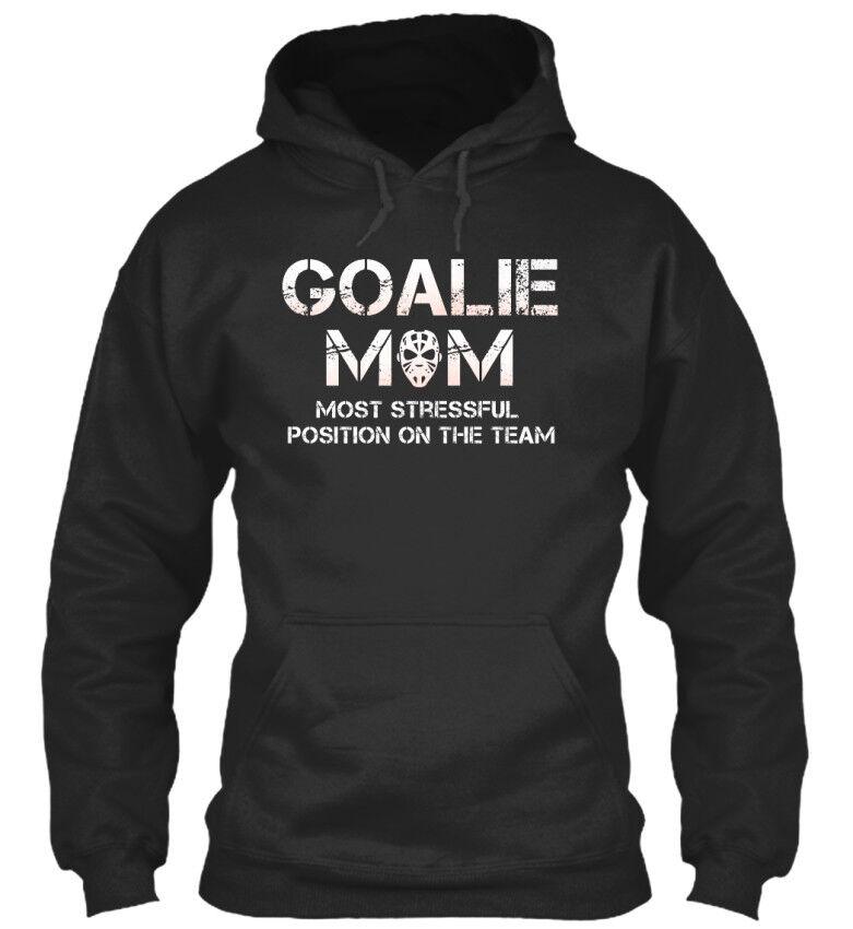 Long-lasting Goalie Maman Drôle Cadeau Hockey-la Plupart Standard College Sweat à Capuche