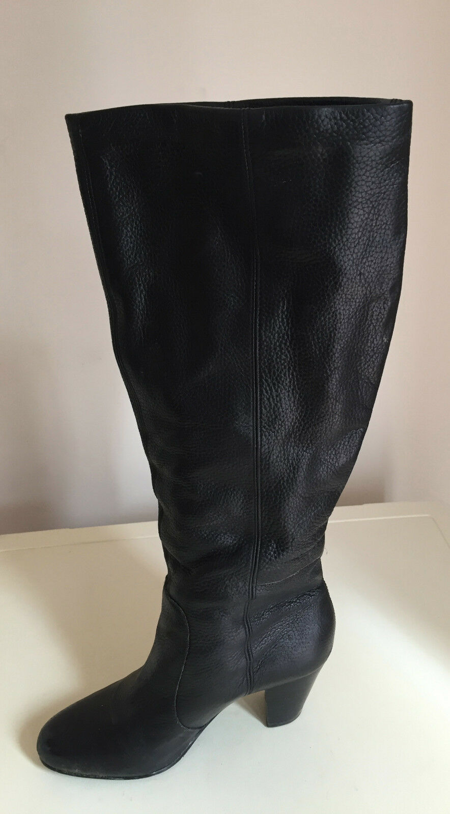 Women Faith Ladies Knee High Boots Size 3 Leather