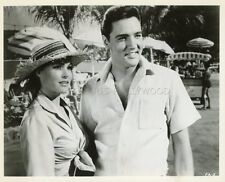 ELVIS PRESLEY URSULA ANDRESS FUN IN ACAPULCO 1963 VINTAGE PHOTO ORIGINAL