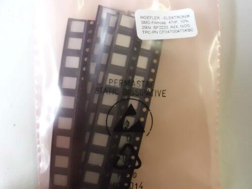!!! 47nf bf2220 AVX 60 SMD-filmcap 10/% m421 250v ST