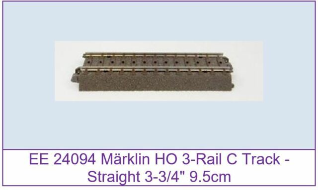 New Märklin Marklin 24094 C Track Straight Track