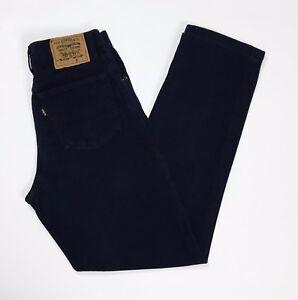 Levis-440-W31-tg-45-jeans-uomo-blu-denim-boyfriend-slim-usato-vintage-T2824