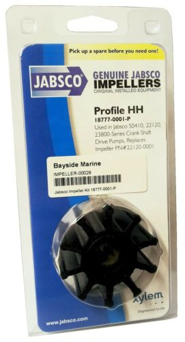 Profile HH Jabsco Genuine Impeller 18777-0001-P Engine Cooling