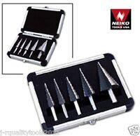 5pc Neiko Tools Step Uni Drill Bit Set Metric 4mm-35mm