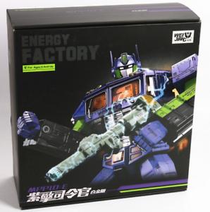 Transformers EVA MPP10-E set with purple car battle engine commander toy